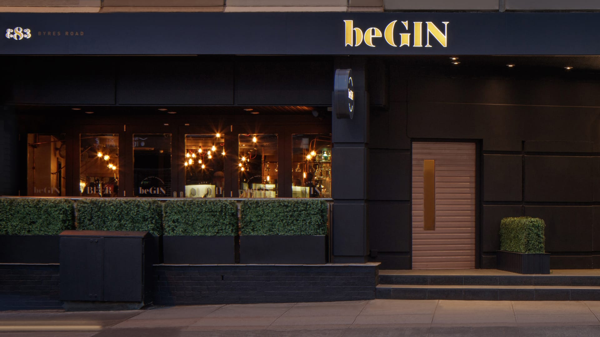 beGIN Bar in Glasgow\'s West End - Byres Road